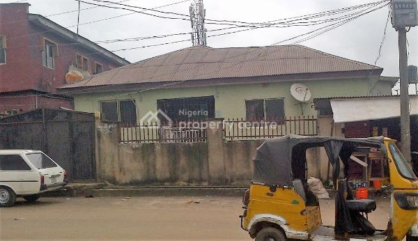 Nice 2 Bedroom Bungalow with a Mini Flat, Behind County Hospital, Ogba, Ikeja, Lagos, Block of Flats for Sale