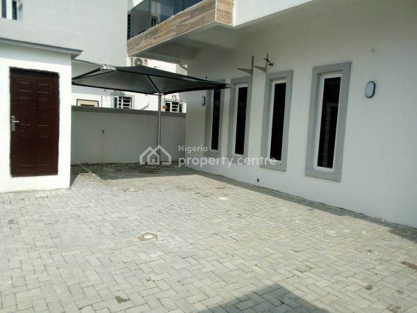 Brand New Serviced 4 Bedroom Fully Detached Duplex with a Room Bq, Orchid Road, Second Toll Gate, Chevron, Lekki Phase 2, Lekki, Lagos, Detached Duplex for Rent