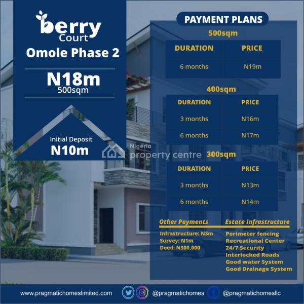 Berry Court, Omole Phase 2, Ikeja, Lagos, Residential Land for Sale