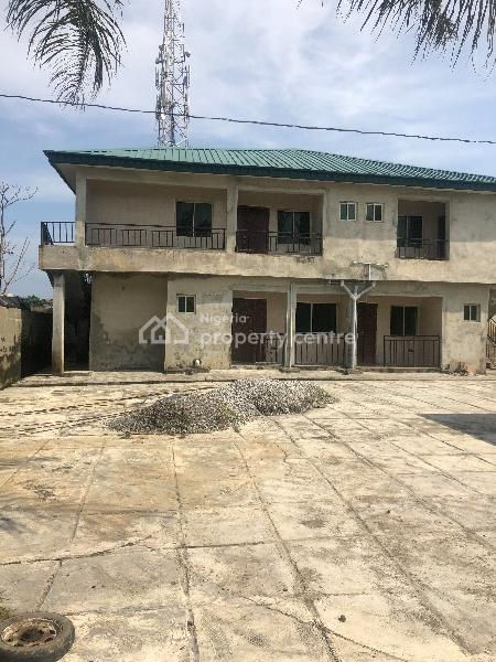Residential Development Consisting of a Block of 4 Nos 2 Bedroom Flats  and an Outbuilding, Hon. Saheed Bankole Street, Ologolo, Lekki, Lagos, Block of Flats for Sale