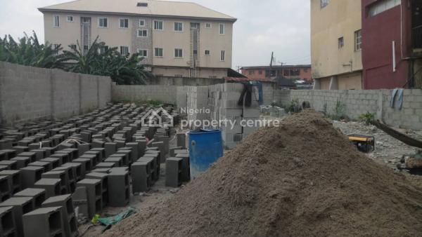Vacant Plot of Land, By Adegunwa Street, Alagomeji, Yaba, Lagos, Mixed-use Land for Sale