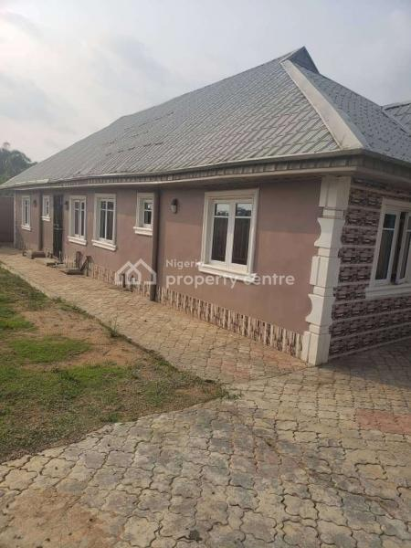 Executive and Tastefully Finished 3 Bedroom Boungalow , Full Kitchen Cabinets. Wardrobe in Room. All Round Tiles, Fenced, Magboro, Ogun, Detached Bungalow for Sale