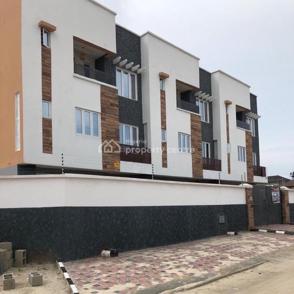 Luxurious 4 Bedroom Terrace Duplex with Bq, Lekki Phase 1, Lekki, Lagos, Terraced Duplex for Rent