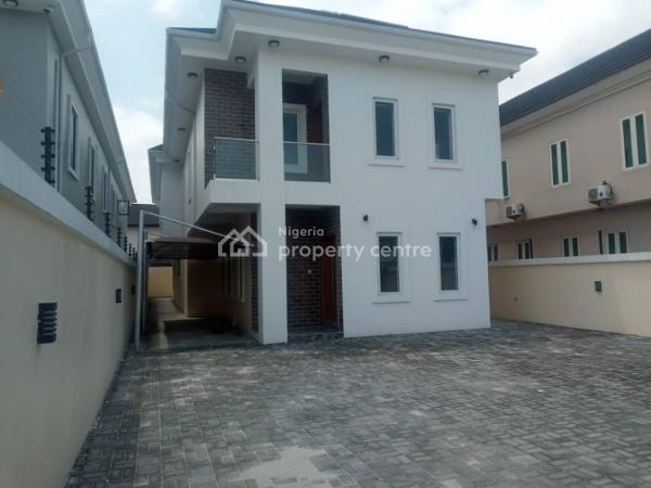 Luxury Newly Built 5 Bedroom Detached House with Bq, Lekki Phase 1, Lekki, Lagos, Detached Duplex for Rent