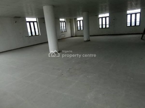 100sqm Plaza Very Big Plaza with Kitchen and Store, 2 Toilet, 2 Lift with Atm Gallery, Very Close to Lbs, Olokonla, Ajah, Lagos, Office Space for Rent