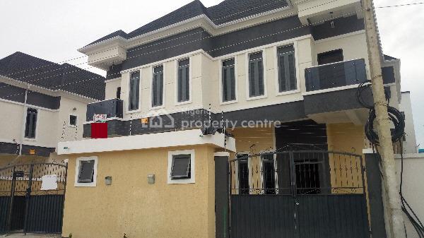 Tastefully Finished and Exquisitely Built Duplex with Bq, Lafiaji, Lekki, Lagos, Semi-detached Duplex for Sale