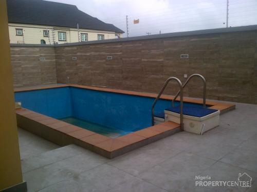 For Sale Brand New And Superbly Finished 5 Bedroom Detached House With Boys Quarters Swimming
