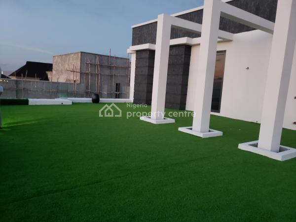 Luxury and Beautifully Beaut 95% Finished 6bedroom Mansion Wth Cinema House, Gym with a Lovely Swimming Pool Nd Roof Top Garden, Pinock Beach Estate, Osapa, Lekki, Lagos, Detached Duplex for Sale