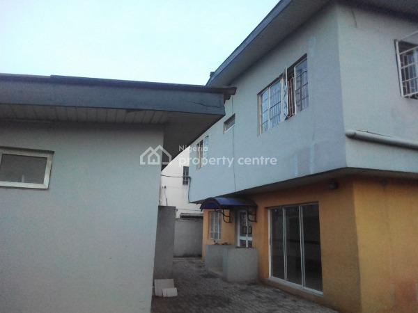 Fully Detached Corporate Office Building with 2 Rooms Bq, Allen, Ikeja, Lagos, Detached Duplex for Rent