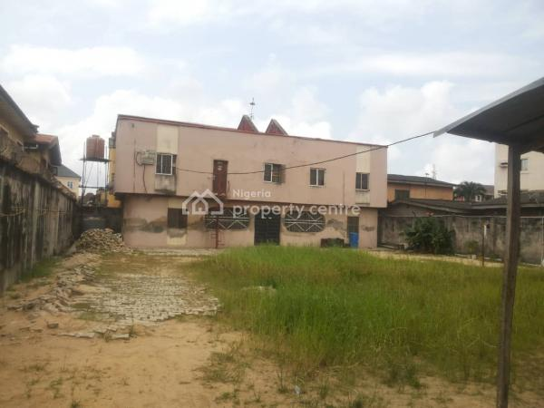 Big and Spacious House, Oluwole Close, Carnal Estate, Okota, Isolo, Lagos, Block of Flats for Sale