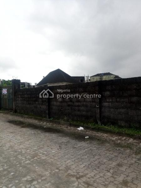 Well Located, Fully Fenced and Gated 3 Plots of Land, Off Royal Street By De Hedge Hotel, Gra Phase 3, Port Harcourt, Rivers, Mixed-use Land for Sale