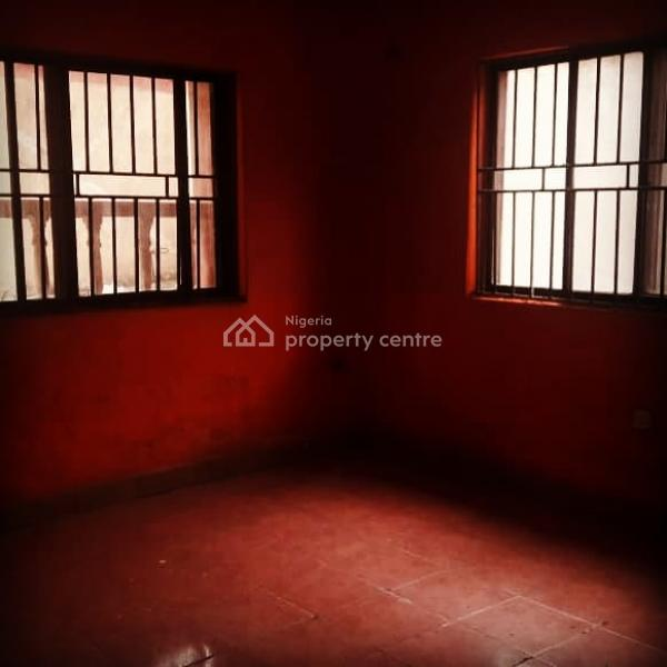Renovated 2 Bedroom Flat with 2 Toilets and 1 Bath Kitchen Cabinet, Wardrobes, Borehole Water, Car Park and Quiet Compound, Akoka, Yaba, Lagos, Flat for Rent