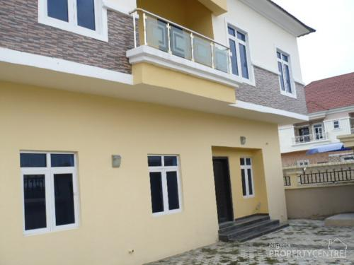 Brand New And Tastefully Finished 5 Bedroom Detached House With Boys Quarters Lekki Lagos