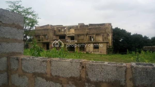 Uncompleted Building on a Land, Hamza Abdullahi Close, Asokoro District, Abuja, Residential Land for Sale