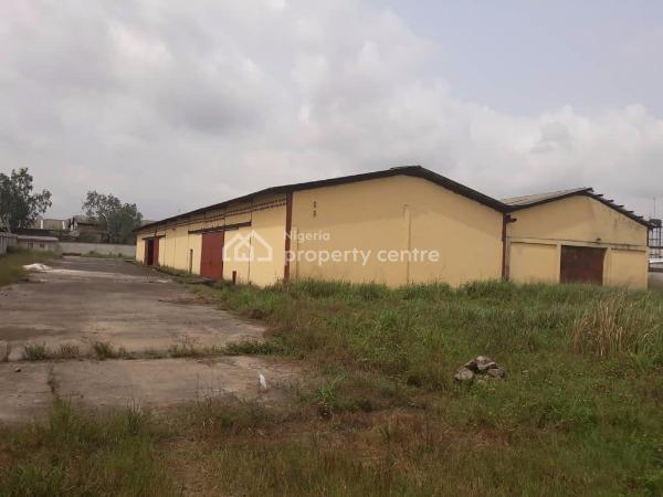 Strategically Located Warehouse of 2,000 Square Metres Size on a Land Size of 8,000 Square Metres, Industrial Layout, Trans Amadi, Port Harcourt, Rivers, Warehouse for Rent