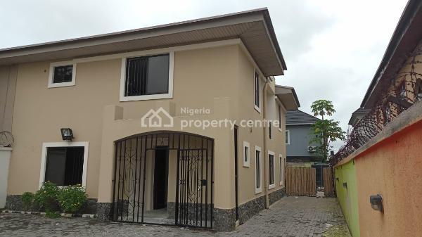 Nicely Built Four Bedroom Semi Detached, Lekki Phase 1, Lekki, Lagos, Semi-detached Duplex for Rent