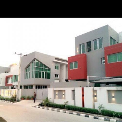 5bedroom Semi Detached Duplex Lekki Lagos Hs