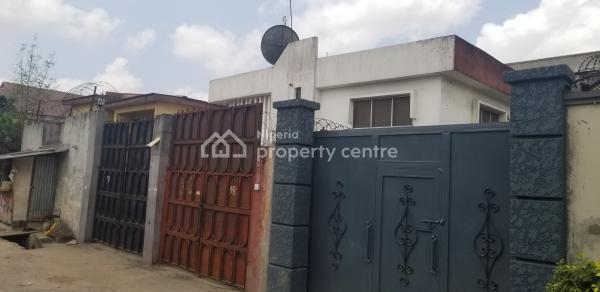 Very Spacious 5 Bedroom Detached Duplex with 2 Numbers Flats, Off Coker Road, Ilupeju Estate, Ilupeju, Lagos, Detached Duplex for Sale