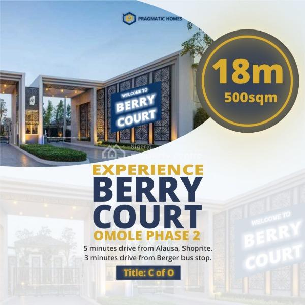 Land  with Fence Power Supply and Interlocked Road, Omole Phase Ii Extension Sharing Boundary with Magodo Phase Ii, Ojodu, Lagos, Residential Land for Sale