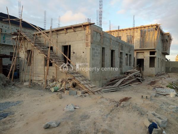 Luxury 4-bed+bq,ongoing Construction, Idado, Lekki, Lagos, Semi-detached Duplex for Sale