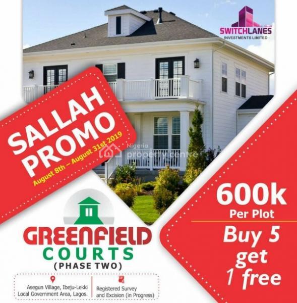 Land in Ibeju Lekki, Asegun, Ibeju Lekki, Lagos, Mixed-use Land for Sale