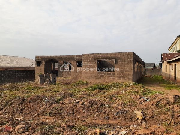 Uncompleted Building on a Private Land, Akowonjo, Alimosho, Lagos, Mixed-use Land for Sale