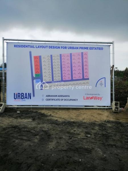 Urban Prime Estatet, Abraham Adesanya Estate, Ajah, Lagos, Residential Land for Sale