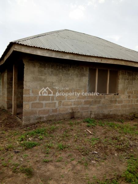 Uncompleted Two Bedroom Flat (roofed), Besides St Matthews Anglican Church, First Gate Igoba, Akure, Ondo, Mini Flat for Sale