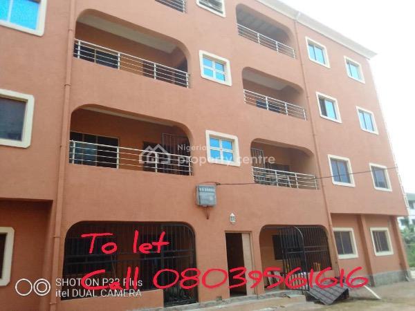 Newly Built 3 Bedroom Flats, Barrister Ikpeama, Trans Ekulu, Enugu, Enugu, Flat for Rent