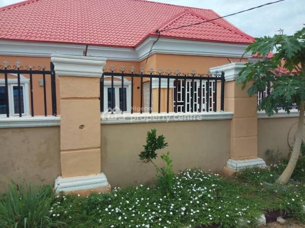 3 Bedroom Semi-detached Bungalow (newly Renovated) with 3 Rooms Bq, Army Post Service Housing Estate, Kurudu, Abuja, Semi-detached Bungalow for Sale
