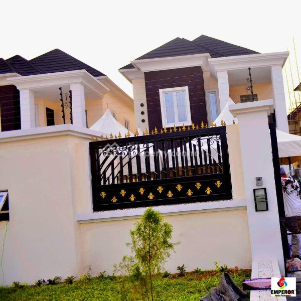 Luxury Designed and Finished 5 Bedroom Fully Detached Duplex (with Ocean View), Atlantic View Estate (kensington Street), Lekki, Lagos, Detached Duplex for Sale