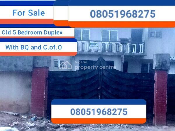 5 Bedroom Duplex, Gius Idubor, Off Ruben Agho G.r.a, Benin, Oredo, Edo, Detached Duplex for Sale