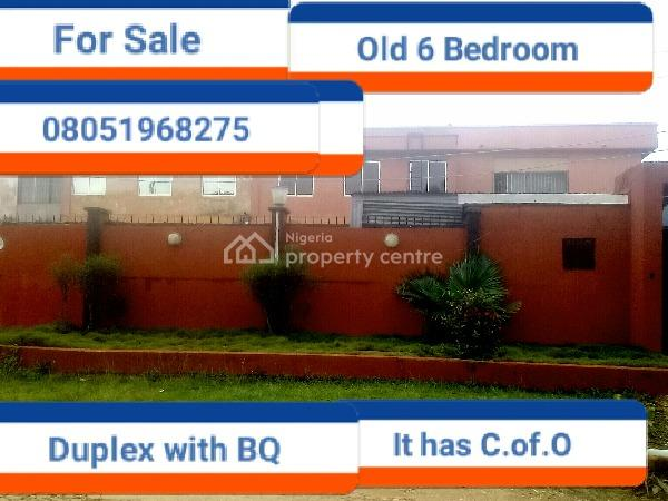 6 Bedroom Duplex, Imasogie Street, Ihama G.r.a, Benin, Oredo, Edo, Detached Duplex for Sale
