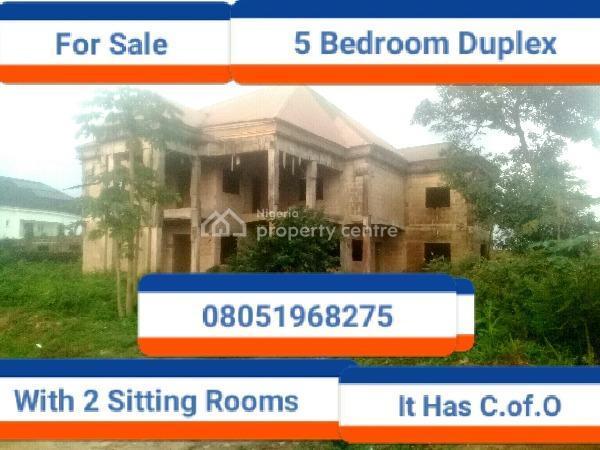 6 Bedroom Duplex, Lucky Way, Ugbor Village Road G.r.a, Benin, Oredo, Edo, Terraced Duplex for Sale