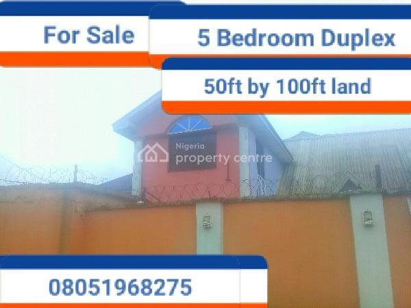 5 Bedroom Duplex, Ebo, Ihirihi, Airport Road, Benin, Oredo, Edo, Terraced Duplex for Sale
