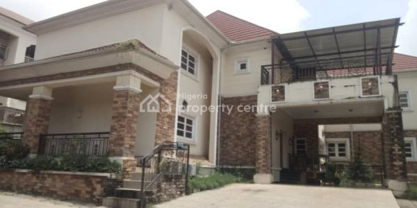 Fully Detached 5-bedroom Duplex with a Room Guest Chalet and a Room Bq, Jabi, Abuja, Detached Duplex for Rent