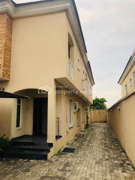 Luxury 4 Bedroom Semi Detached Duplex with 1 Room Bq, Lekki Phase 1, Lekki, Lagos, Semi-detached Duplex for Rent
