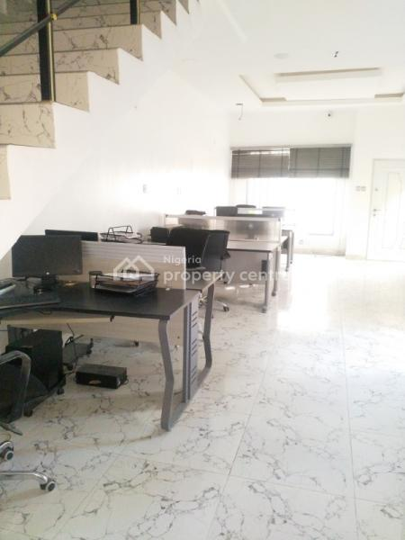 57m2 Office Space with Two Toilets, Conference Room and Furniture(optional)., Ivory Street, Off Price Ibrahim Eletu, Jakande, Lekki, Lagos, Semi-detached Duplex for Rent