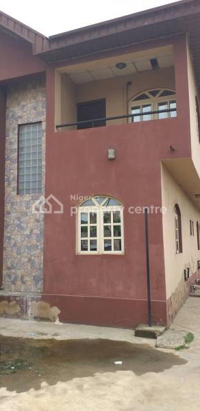 Wing of Duplex Converted Into 2 Bedroom Flat Upstairs and 3 Bedroom Flat Downstairs Sitting on 225.338sqm, Bariga, Shomolu, Lagos, Block of Flats for Sale