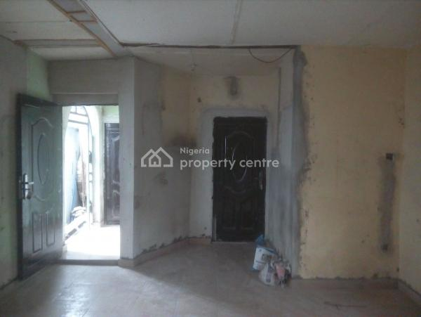 a Standard 1 Bedroom Bungalow Yet to Be Painted, By Big Treat, Rukpokwu, Port Harcourt, Rivers, Detached Bungalow for Rent