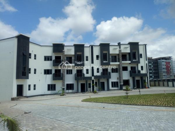 Brand New and Luxury Finished Spacious 4 Bedroom Terrace Duplex with 1 Room Attached Bq, Wuye, Abuja, Terraced Duplex for Rent