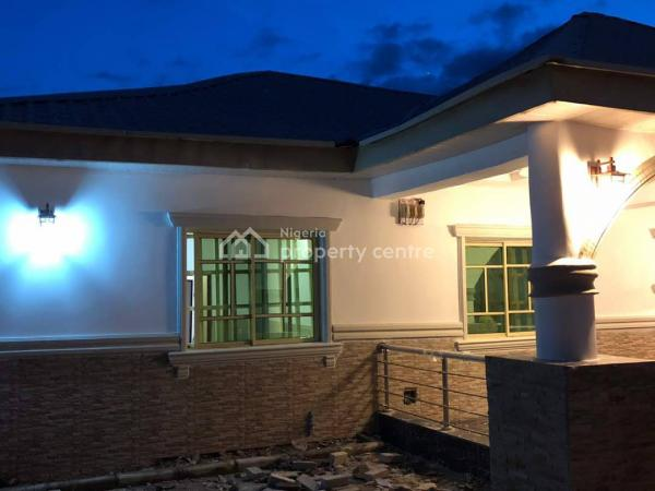 a Newly and Exquisitely Finished  Three Bedroom Bungalow with Space for Bq  - 600sqm Land with C of O, Gaduwa, Abuja, Detached Bungalow for Sale