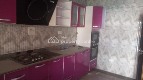 Luxury Three Bedroom Terrace with a Studio Room Downstairs, Extra Kitchen and Bq, Lekki Phase 1, Lekki, Lagos, Terraced Duplex for Rent
