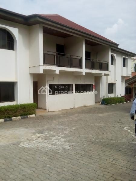 a Very Good Twin Duplexes of 4 Bedrooms with 2 Room Bq Each, Wuse 2, Abuja, Semi-detached Duplex for Rent
