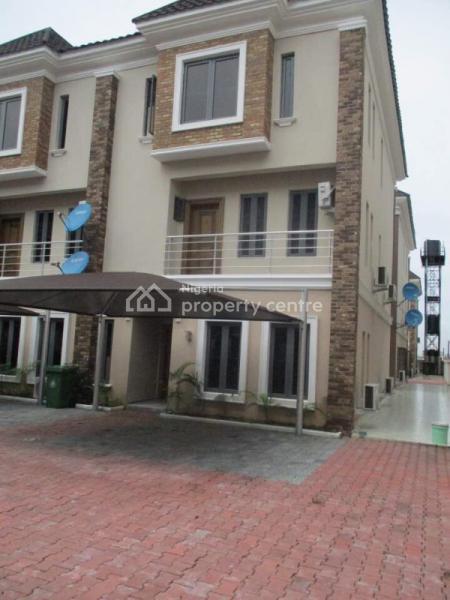 Brand New 4 Bedroom Terraced Duplex with Bq, Abiola Court, Ikate Elegushi, Lekki, Lagos, Terraced Duplex for Rent