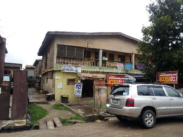 House , Good for Residential Or Commercial, Ago Palace, Isolo, Lagos, Block of Flats for Sale