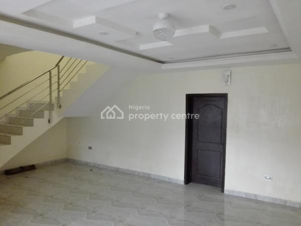 Beautiful 4 Bedroom Terrace Duplex Plus One Room Bq, Chevron Drive, Behind Eleganza House, Lekki, Lagos, Terraced Duplex for Rent