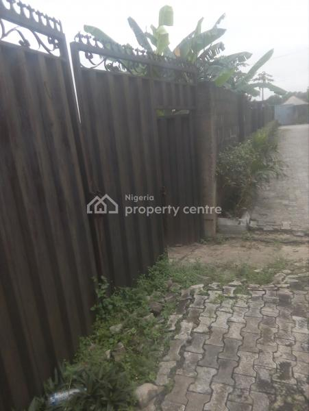 8 Plot of Well Fenced Land with Good Neighborhood, Opposite Forte Oil Filling Station, By The Fly Over, Eliozu, Port Harcourt, Rivers, Mixed-use Land for Sale
