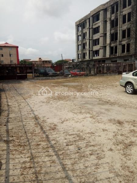 1468sqm of Prime Fenced Land Facing The Express, By Elf Bus Stop, Between 2nd & 3rd Roundabout, Lekki Phase 1, Lekki, Lagos, Commercial Land for Rent