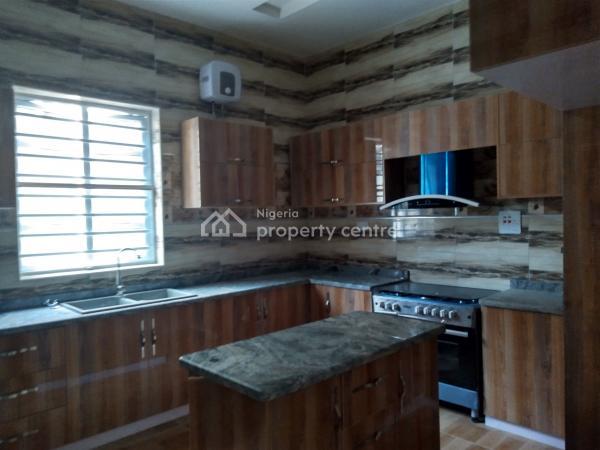 Luxury 4 Bedroom with a Room Bq, Road 27, Ikota Villa Estate, Lekki, Lagos, Semi-detached Duplex for Rent